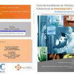 CURSO acreditación de Director de Instalaciones de Radiodiagnóstico en Policlínicas AC