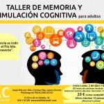 Taller de memoria y estimulación cognitiva para adultos