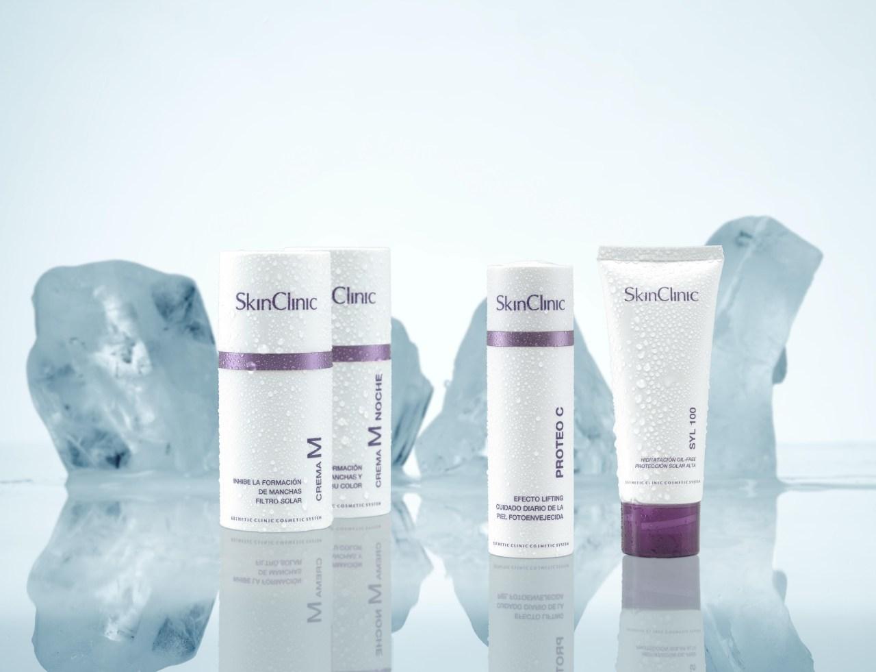Punto de venta de productos cosméticos SkinClinic
