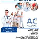Tarjeta de salud en Policlínicas AC
