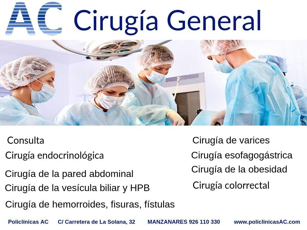 Cartel Cirugia General
